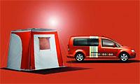 Volkswagen создал автофургон для жизни на колесах