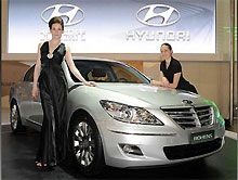 Hyundai Genesis превратился в Rohens