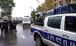 В офис избирательного штаба грузинских лейбористов бросили гранату