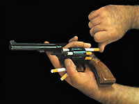 Курение убивает 10 человек за минуту