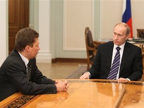 Путин поддерживает полное прекращение поставки газа в Украину