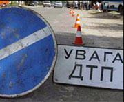 В Донецке перевернулся автобус с пассажирами