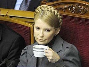 Тимошенко сомневается, что Партия регионов добьется ее отставки
