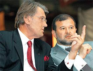 Вместо Ющенко в швейцарских Альпах едва не сгорел Балога