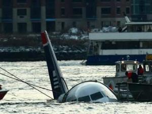 В Нью-Йорке приводнился пассажирский лайнер US Airways