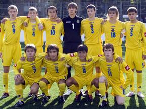 Сборная Украины U-17 победила в Минске