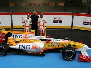 Команда Renault провела презентацию нового болида