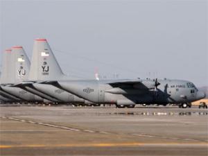На базе ВВС США в Токио произошел пожар