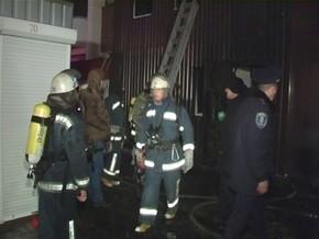 Пожар в сауне на Троещине: есть погибшие