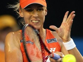 Australian Open: Дементьева вышла в 1/8 финала