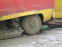 В Одессе сошел с рельс трамвай с пассажирами