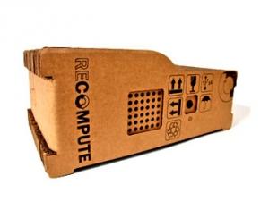 Представлен компьютер с картонным корпусом