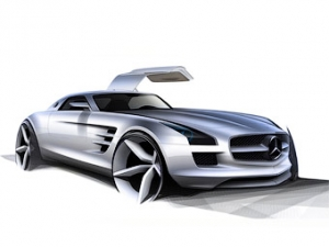 Mercedes-Benz рассекретил 571-сильный суперкар (6 фото)