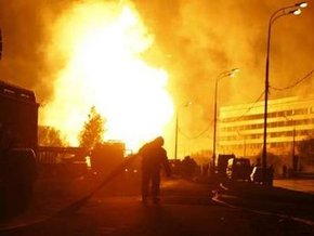 Пожар на газопроводе в Москве - 5 пострадавших, 100 тысяч без Интернета