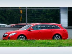 """Opel готовит """"заряженную"""" версию универсала Insignia"""
