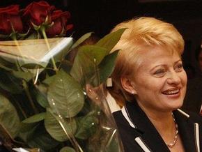 Президентом Литвы впервые стала женщина