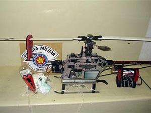 В бразильскую тюрьму пытались прислать игрушечный вертолет с контрабандой