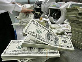 Курс продажи наличного доллара составляет 7,65-7,7 гривны за доллар