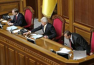 Литвин: Досрочных выборов не будет, если мы опомнимся