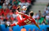 Швейцарец забил фантастический гол на Евро-2016: опубликовано видео