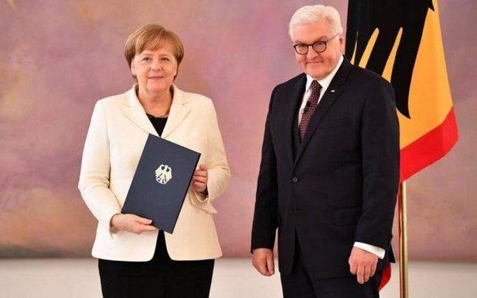 Меркель в очередной раз стала канцлером Германии