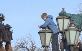 Протесты в России: соцсети удивил неожиданный участник, опубликовано видео