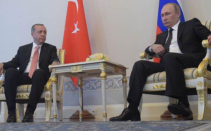 У мережі вирішили, що Ердоган принизив Путіна: з'явилося відео