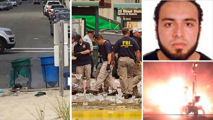 """Справжній бойовик в США: """"підривник"""", якого розшукували, затриманий зі стріляниною (1)"""
