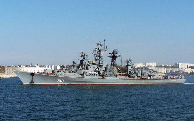 Вторгнення кораблів Росії в зону України: з'явилися фото і відео з місця подій