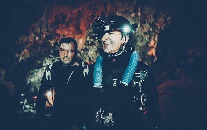 Украинские дайверы помогали спасать детей из пещеры в Таиланде
