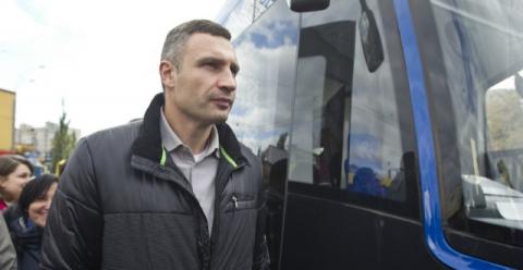 Кличко на Параді трамваїв презентував новий польський трамвай Pesa (1)
