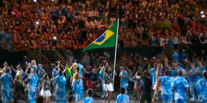 Церемония открытия Паралимпиады-2016: фото и видео из Рио (39)