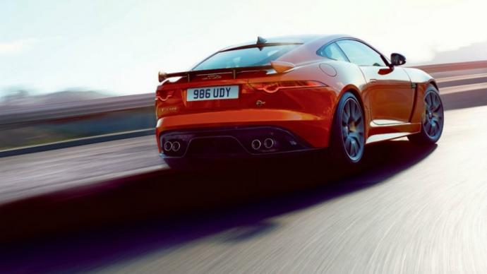 Jaguar F-Type SVR наберет «сотню» за 3,7 секунды (1)