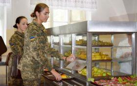 Українська армія переходить на нову систему харчування