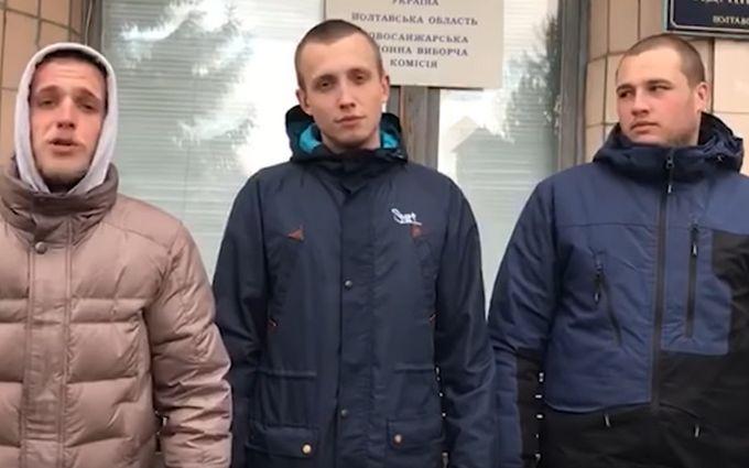 Просто принесли пирожки: протестующие из Новых Санжар обратились к Зеленскому