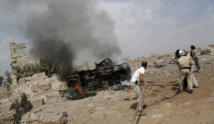 ВКС РФ нанесли авиаудар по гумконвою в Сирии