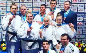 Сборная Украины по дзюдо завоевала почетные награды на чемпионате Европы в России