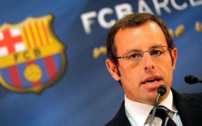 Бывший президент «Барселоны» арестован поподозрению вотмывании денег