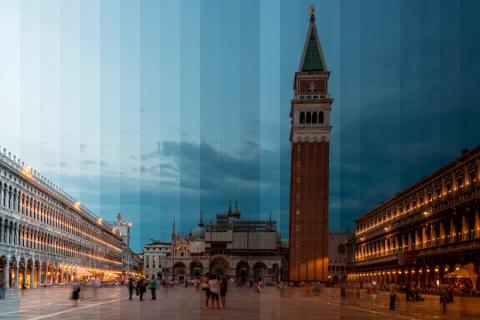 День и ночь на одном снимке. Удивительные кадры знаменитых достопримечательностей в необычном формате (14 фото) (12)