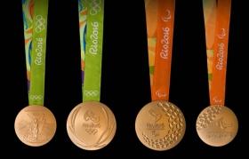 Як виглядають медалі Олімпіади в Ріо: опубліковані фото