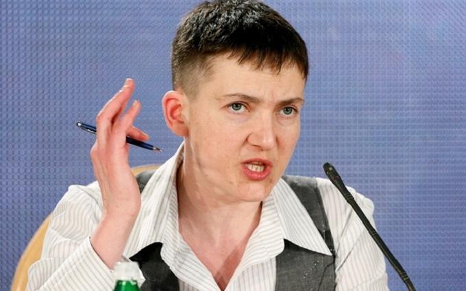 Савченко снова заявила, что готова говорить с главарями ДНР-ЛНР: появилось видео