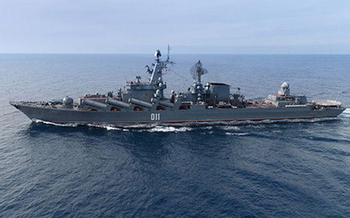 Корабль из России провел учения с сингапурским судном вблизи Корейского полуострова