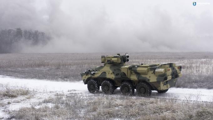 В Украине создали новый бронетранспортер из натовской стали: первые фото (2)