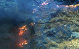 Смертельные пожары в Калифорнии: появились жуткие фото стихийного бедствия из космоса