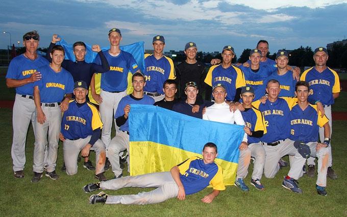 Україна перемогла Росію у фіналі бейсбольного Євро