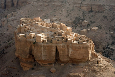 Города, построенные на скалах (15 фото) (8)