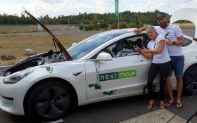 Электромобиль Tesla Model 3 установил новый рекорд: опубликовано видео