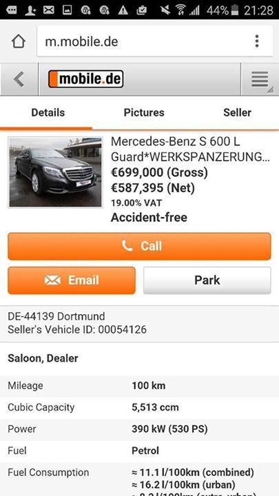 ЗМІ: Шокін їздить на Mercedes за 19 млн грн, прикриваючись номерами від Skoda (5 фото) (4)