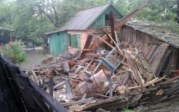 Під Горлівкою бойовики ДНР вбили пенсіонерку: з'явилися фото з місця трагедії