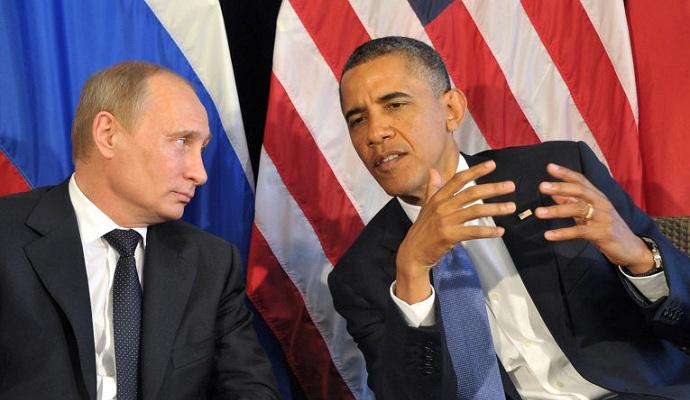 Обама в телефонному режимі обговорив з Путіним ситуацію в Україні та Сирії